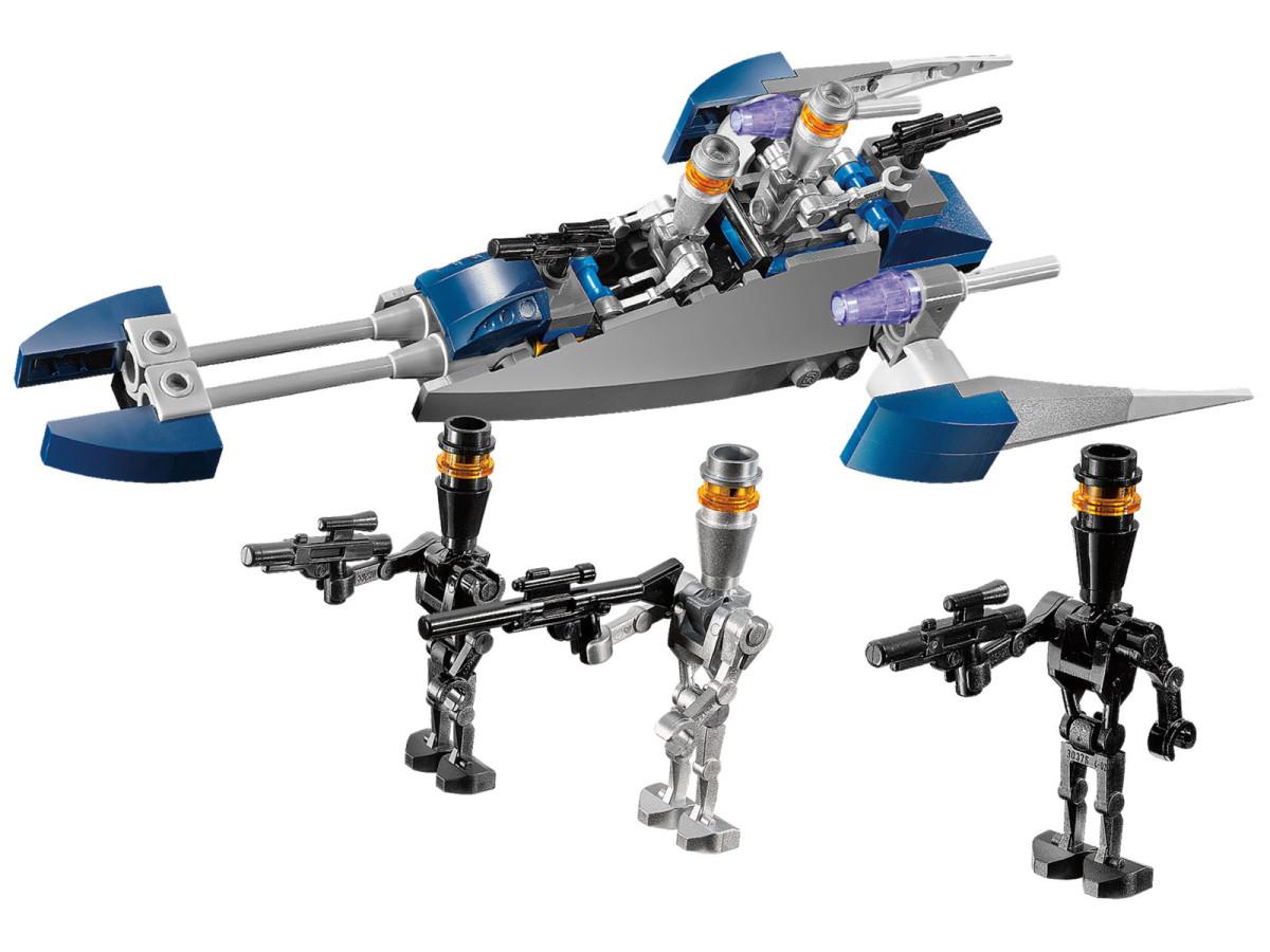 LEGO Star Wars Assassin Droids Battle Pack 8015 Assembled