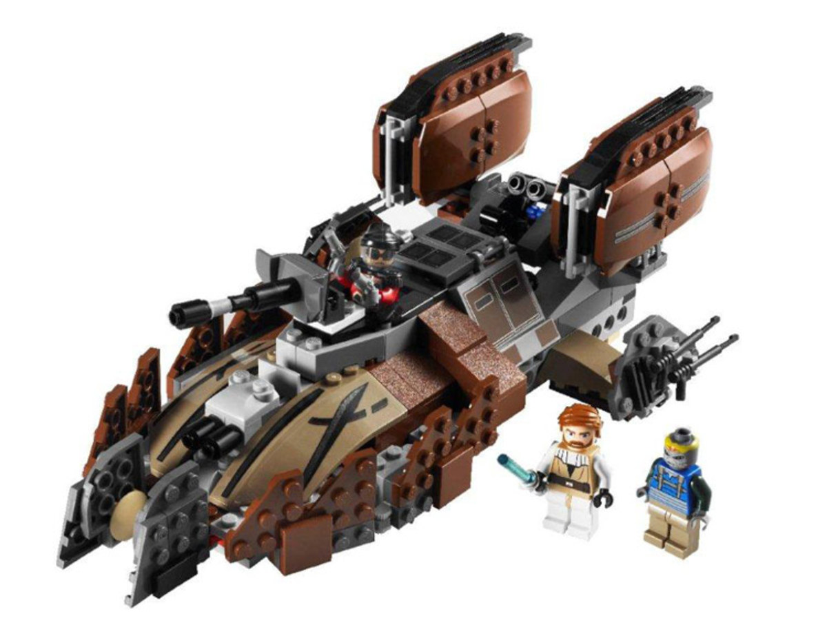 LEGO Star Wars Pirate Tank 7753 Assembled