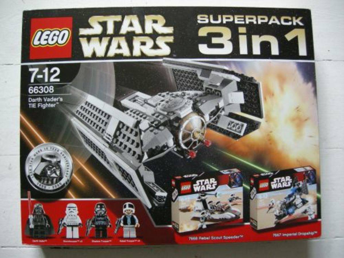 LEGO Star Wars 10th Anniversary Super Pack 66308 Box