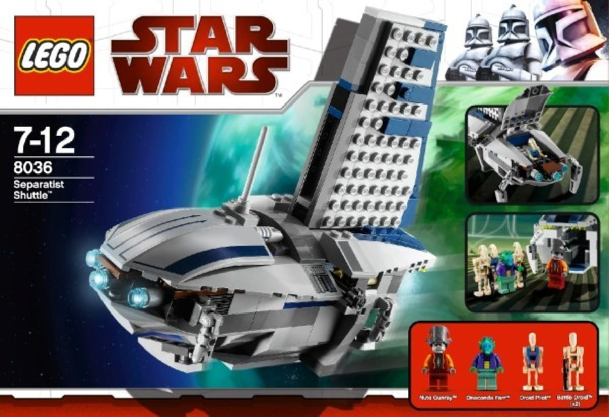 LEGO Star Wars Separatist Shuttle 8036 Box