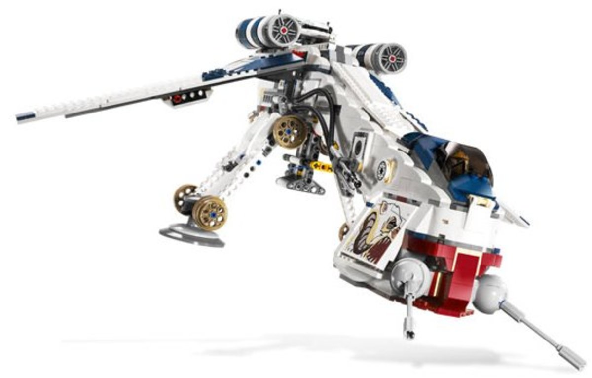 LEGO Star Wars Republic Dropship 10195 Assembled