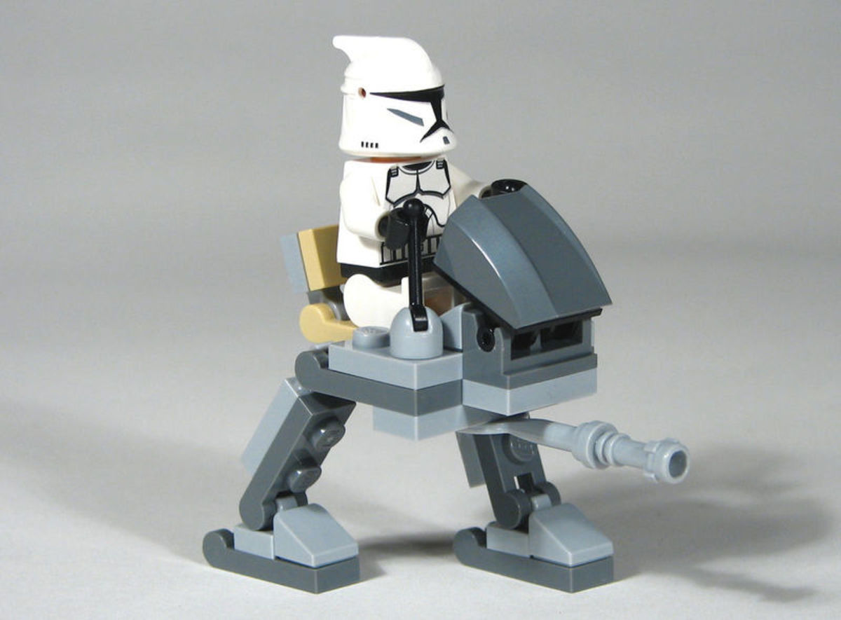 LEGO Star Wars Clone Walker 30006 Assembled