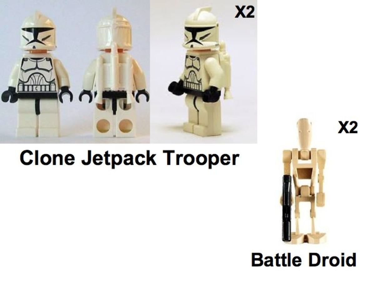 LEGO Star Wars Corporate Alliance Tank Droid 7748 Minifigures