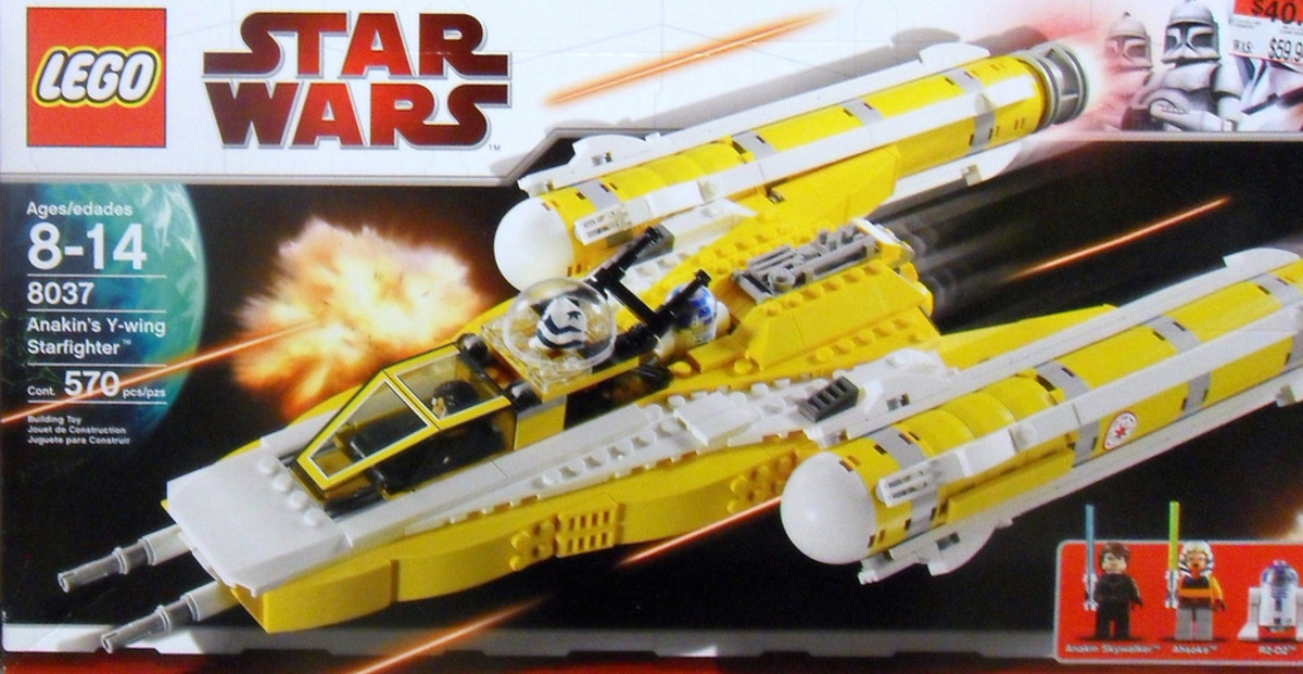 LEGO Star Wars Anakin's Y-Wing Starfighter 8037 Box