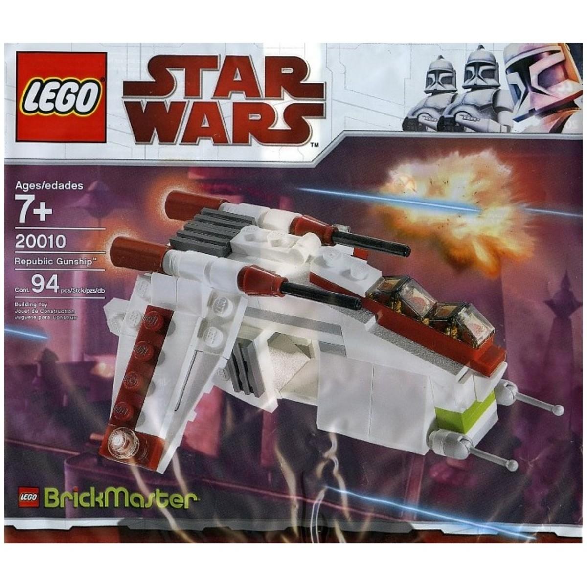 LEGO Star Wars Republic Gunship 20010 Bag