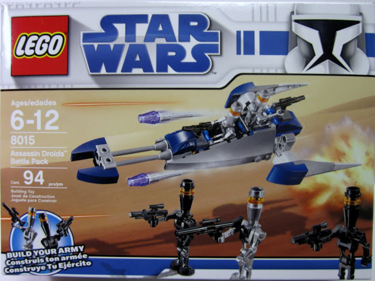 LEGO Star Wars Assassin Droids Battle Pack 8015 Box