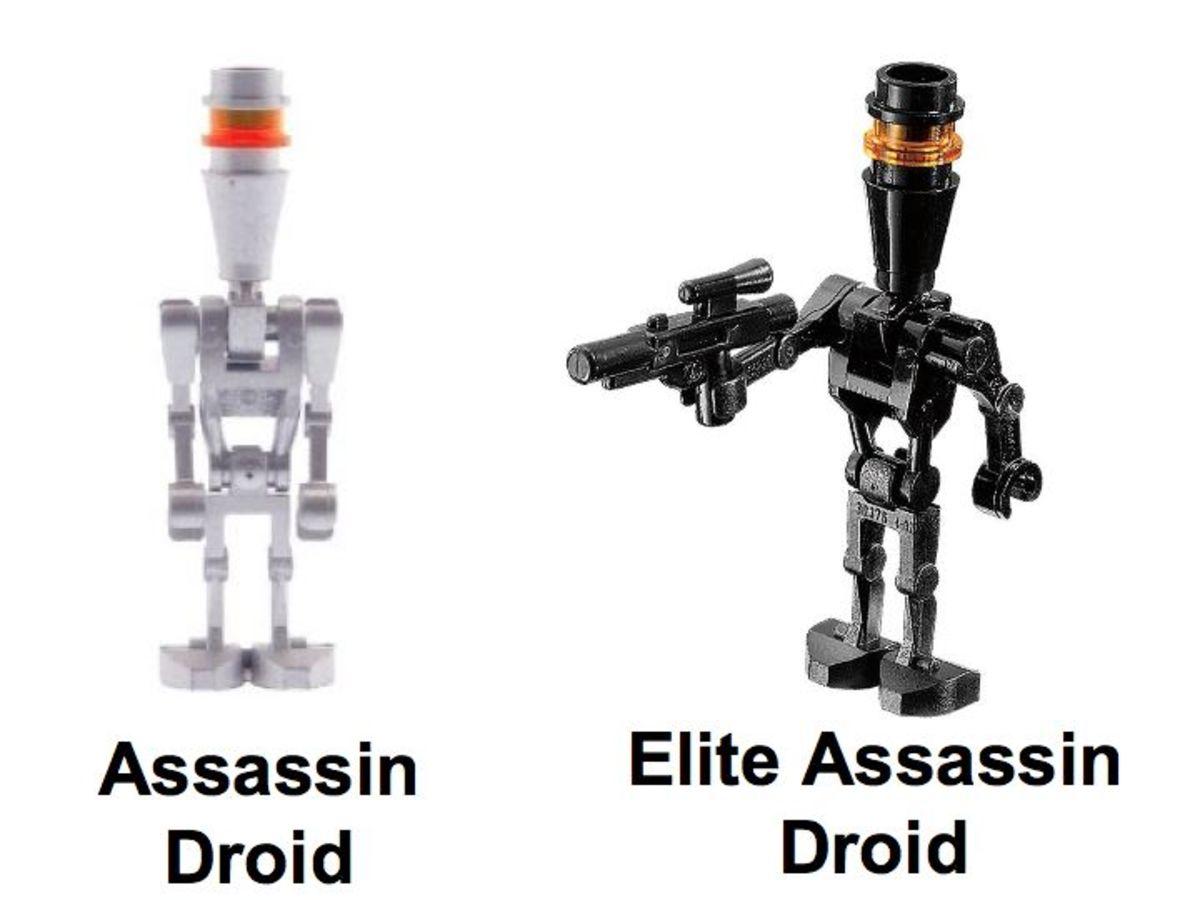 LEGO Star Wars Assassin Droids Battle Pack 8015 Minifigures
