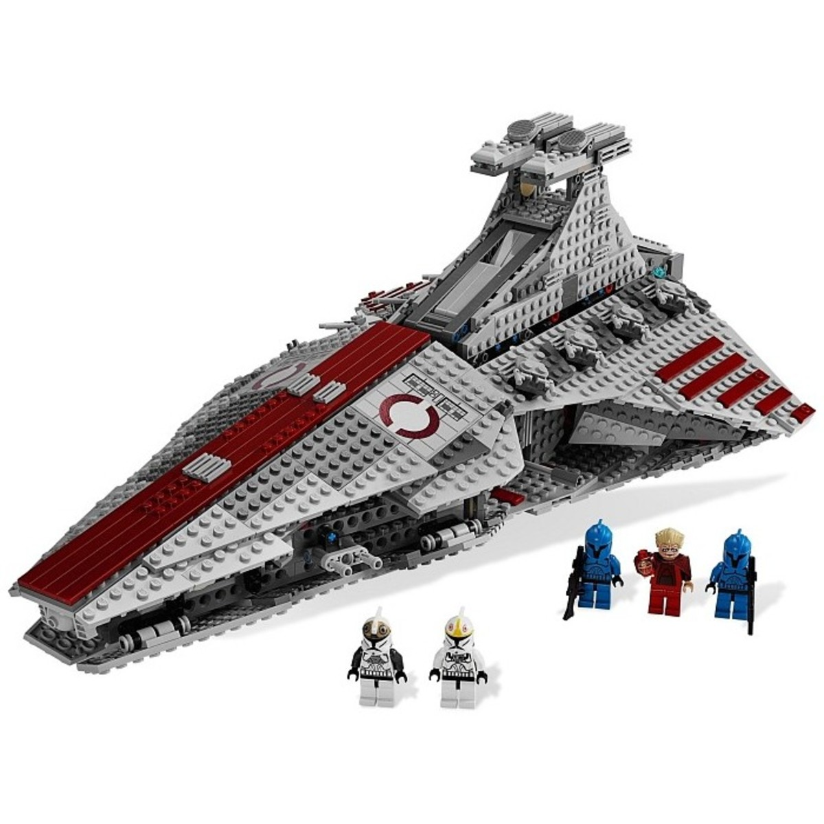 LEGO Star Wars Venator-Class Republic Attack Cruiser 8039 Assembled