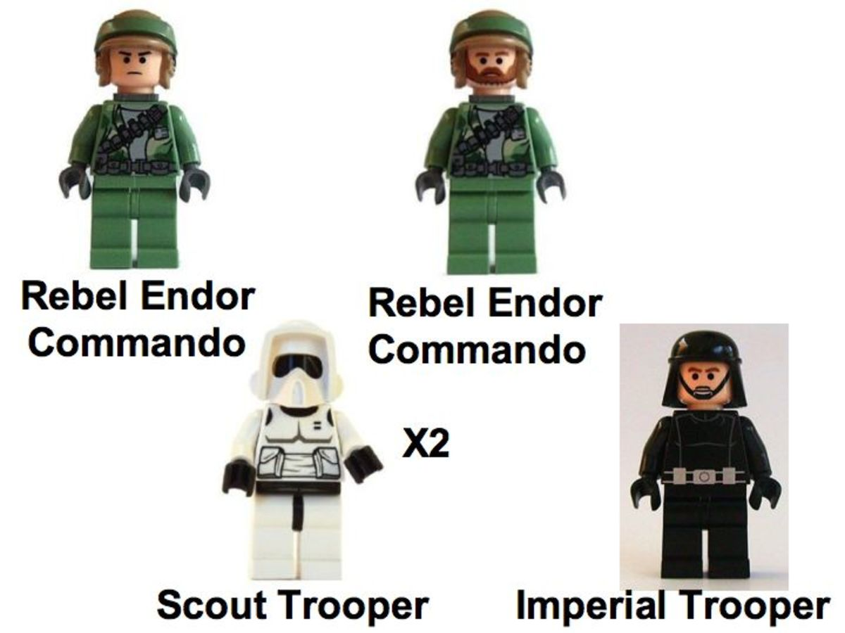 LEGO Star Wars Battle Of Endor 8038 Troop Minifigures