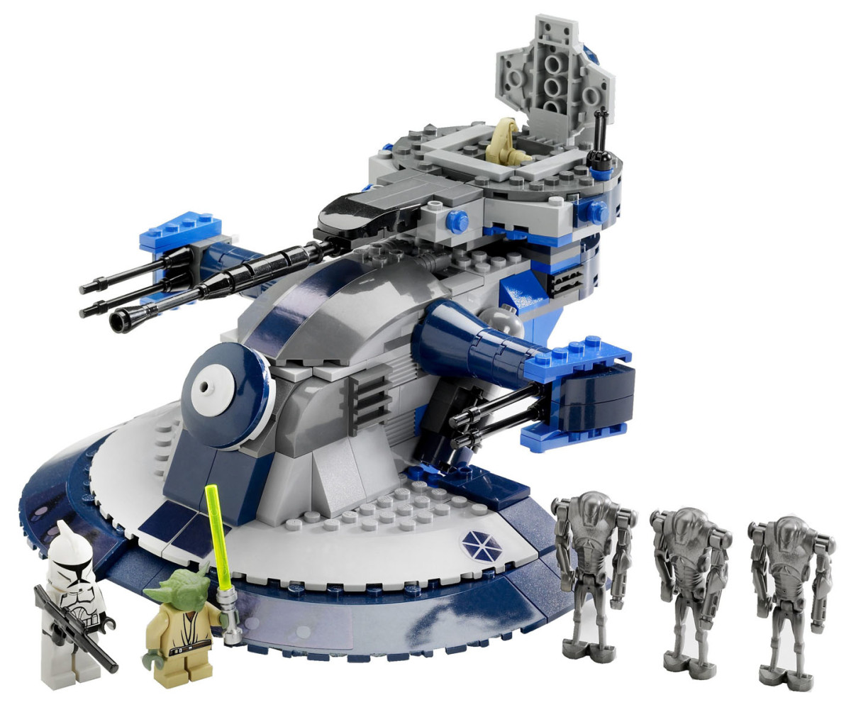 LEGO Star Wars Armored Assault Tank 8018 Assembled