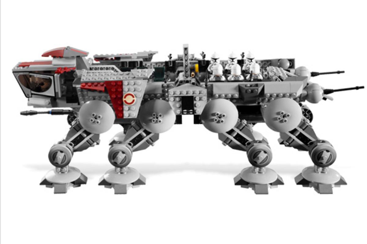 LEGO Star Wars Republic AT-OT Walker 10195 Assembled