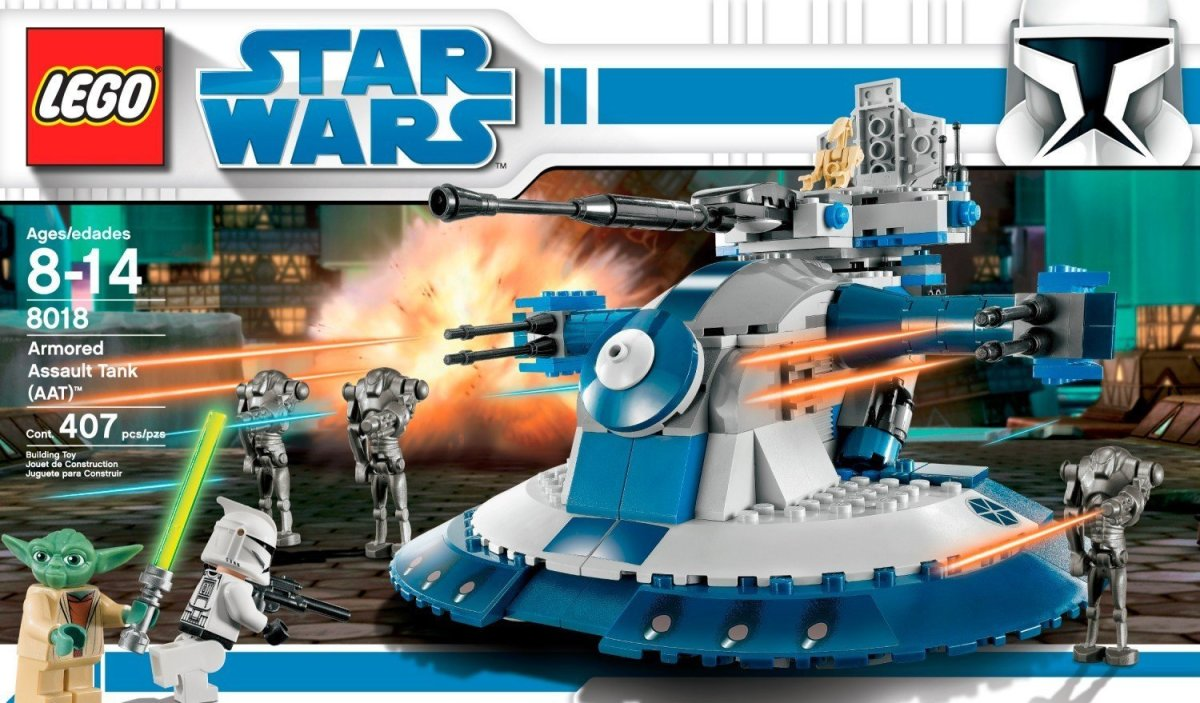 LEGO Star Wars Armored Assault Tank 8018 Box