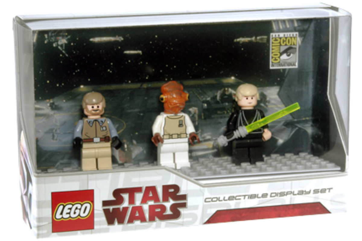 SDCC LEGO Star Wars Collectible Display Set 3 Box