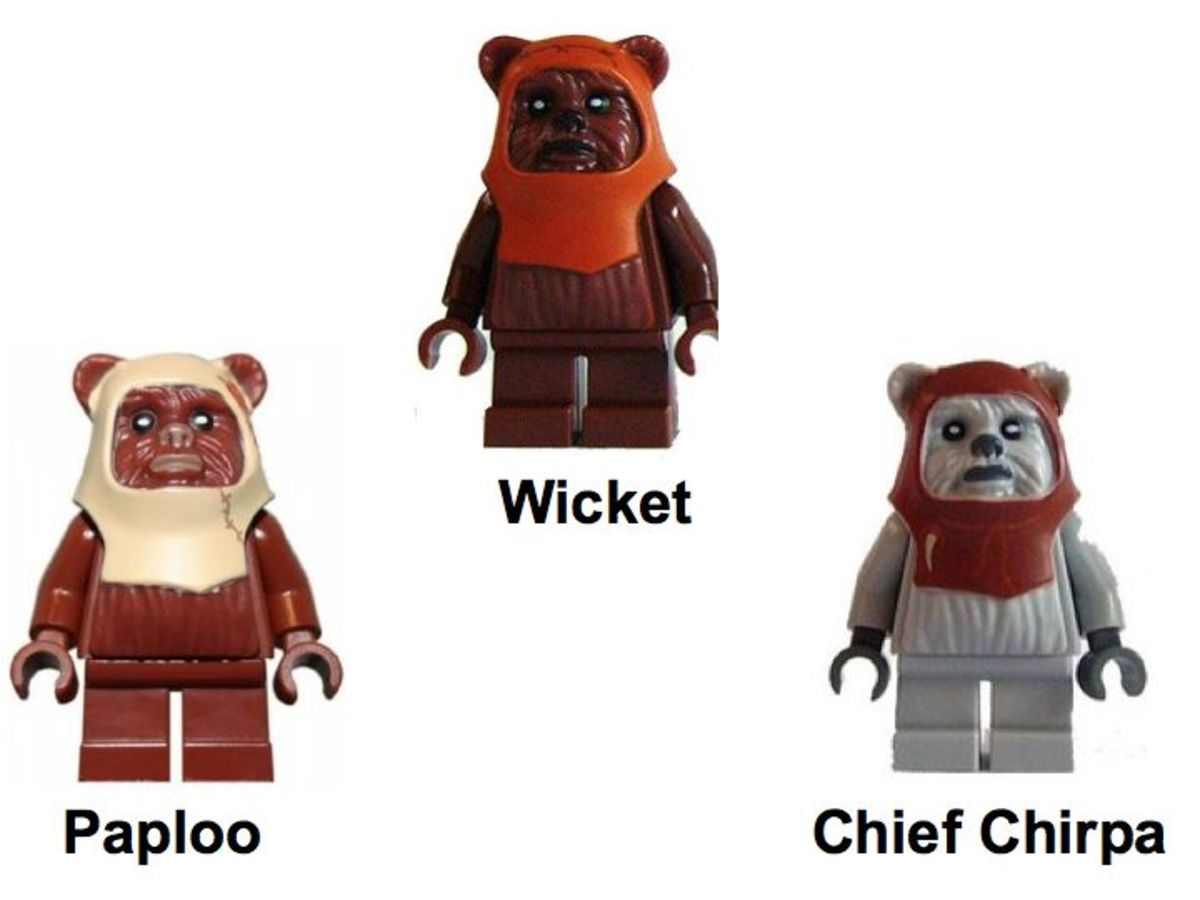 LEGO Star Wars Battle Of Endor 8038 Ewok Minifigures