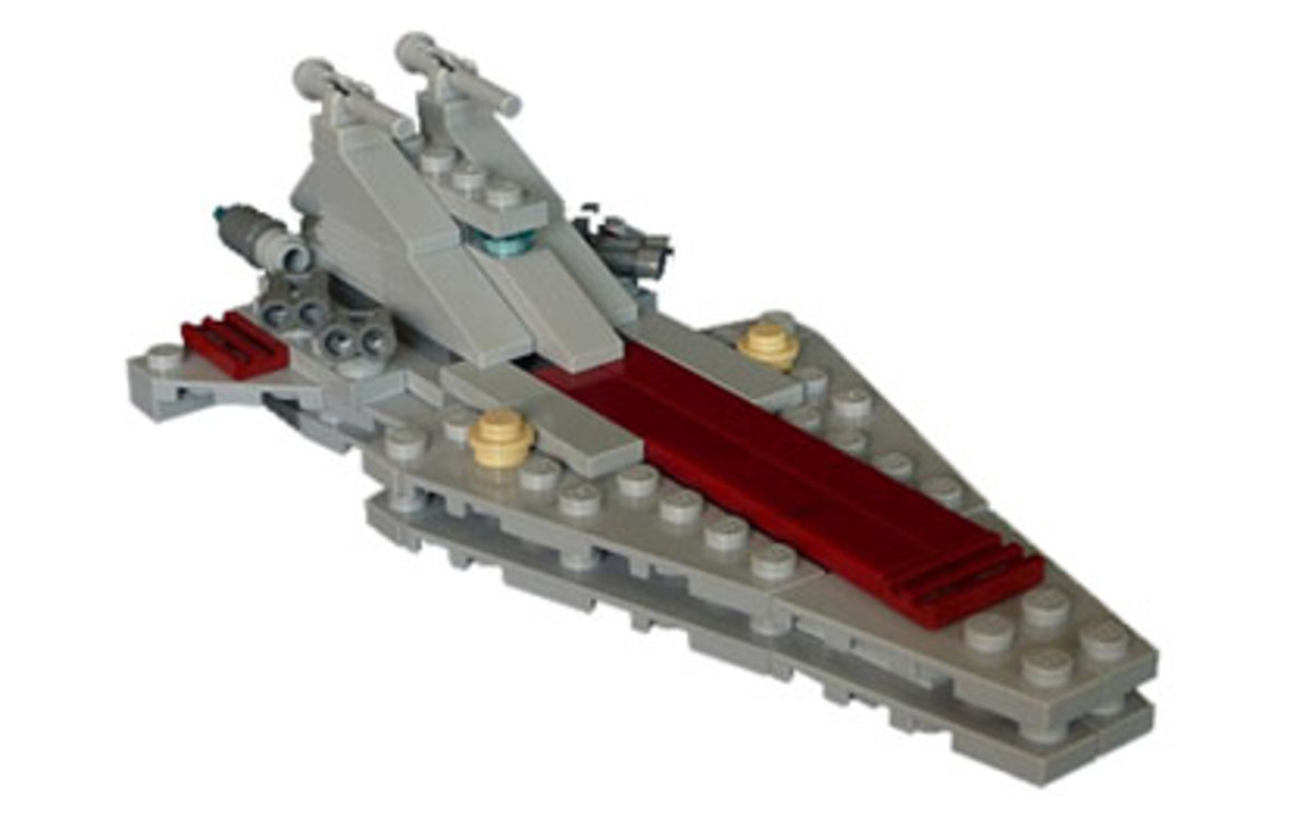 LEGO Star Wars Republic Attack Cruiser 20007 Assembled