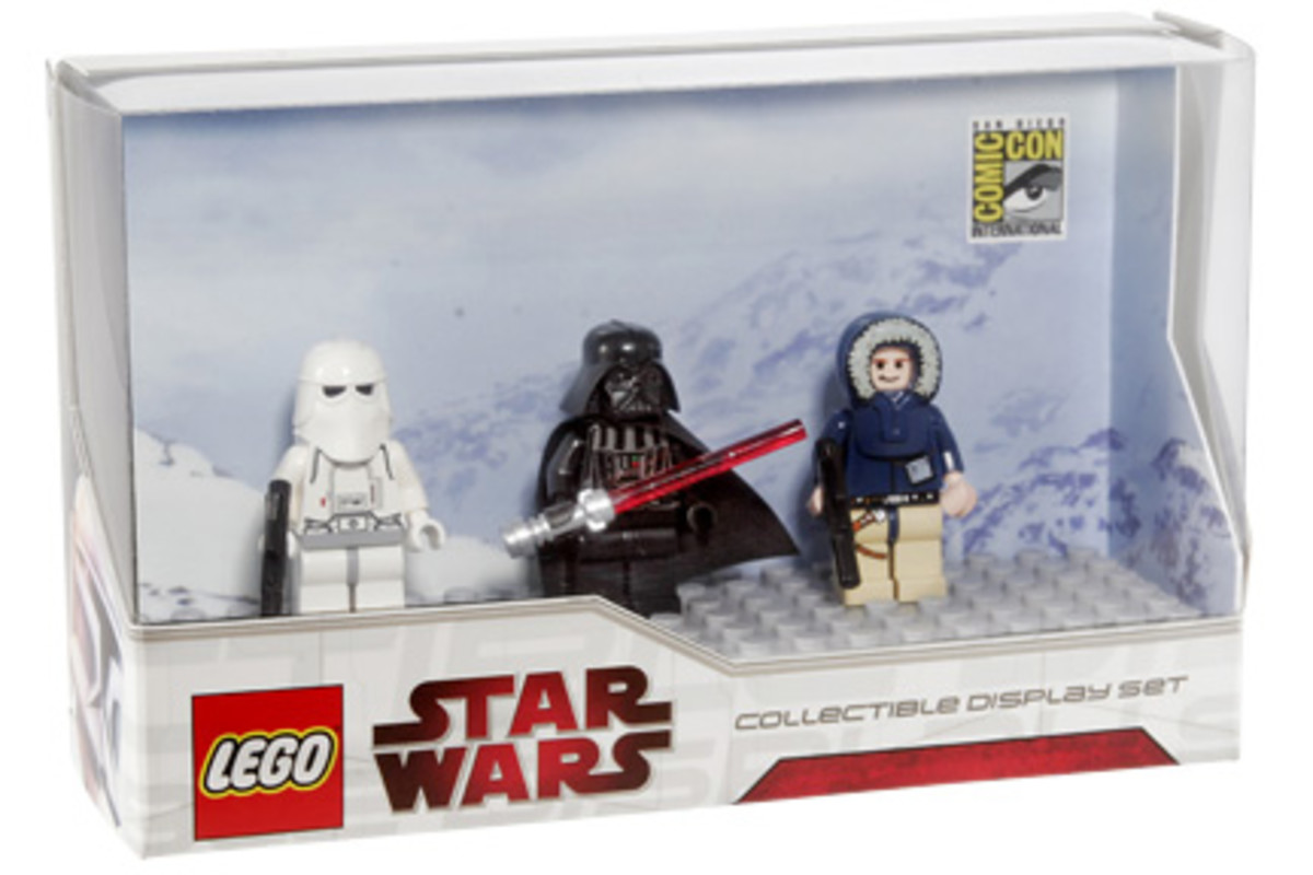 SDCC LEGO Star Wars Collectible Display Set 4 Box