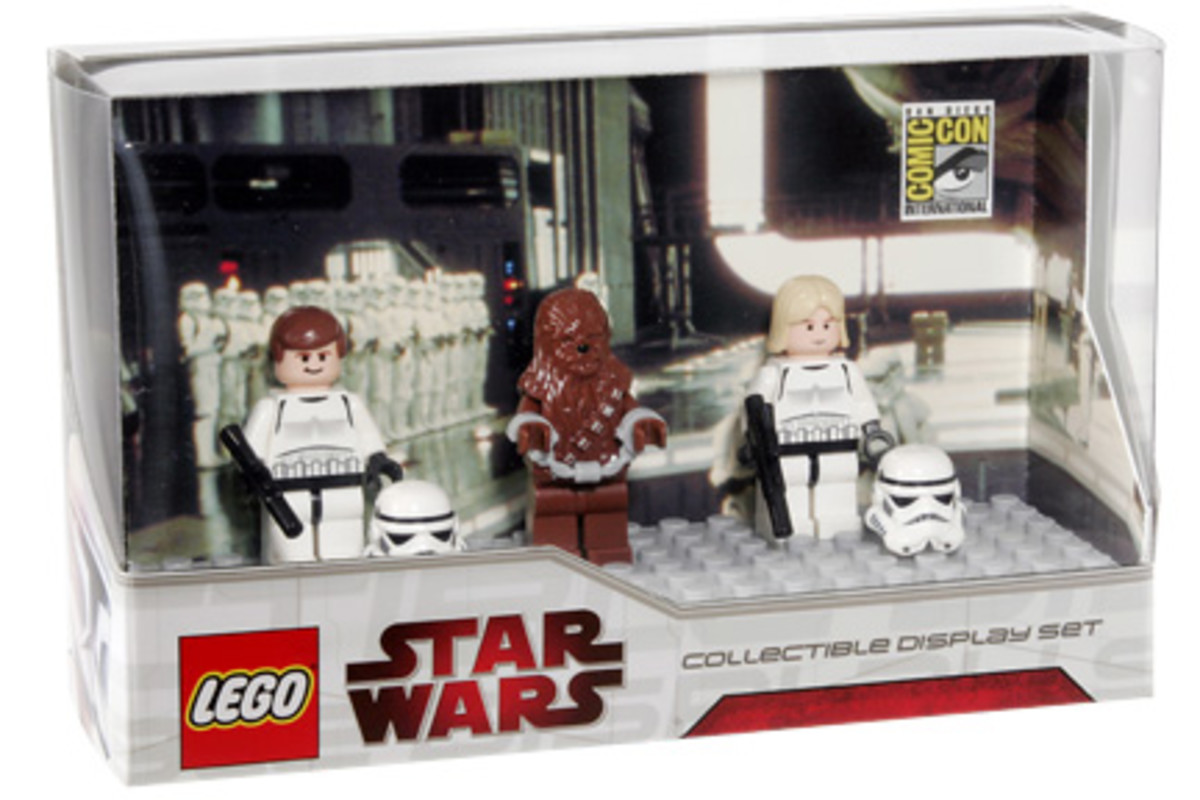 SDCC LEGO Star Wars Collectible Display Set 5 Box