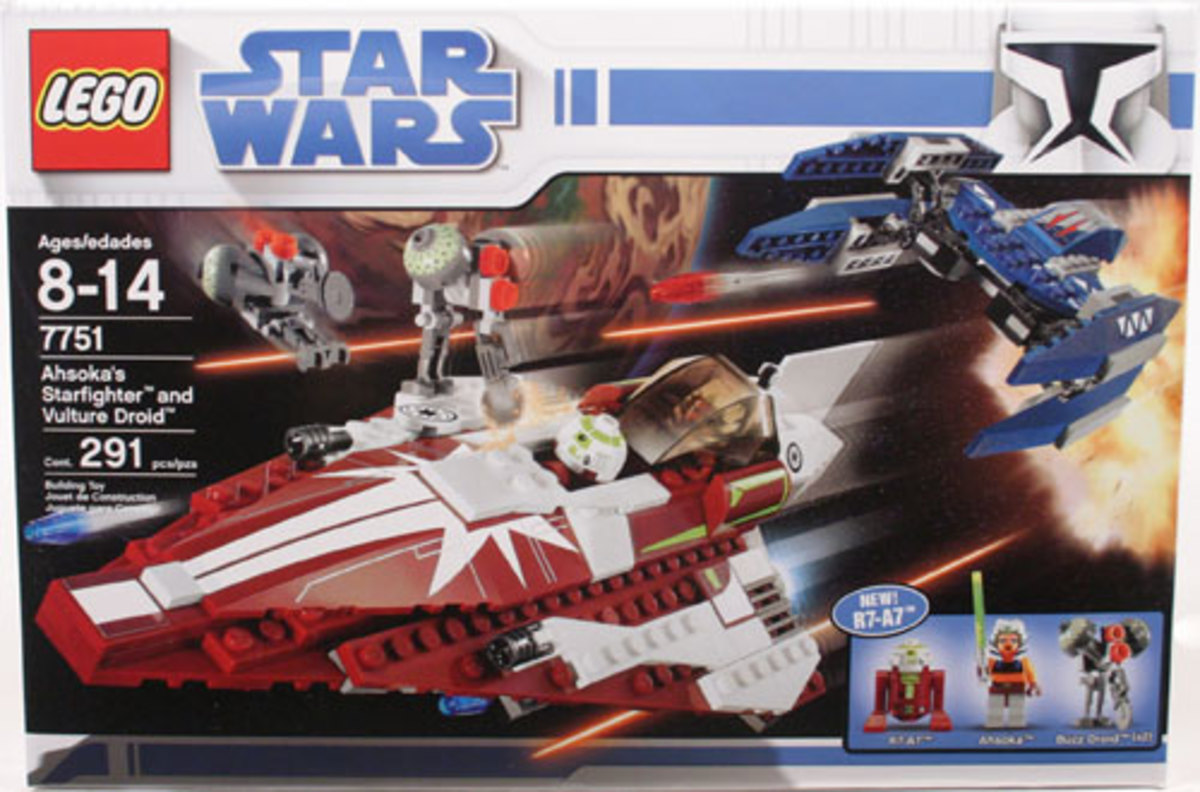 LEGO Star Wars Ahsoka's Starfighter & Vulture Droid 7751 Box