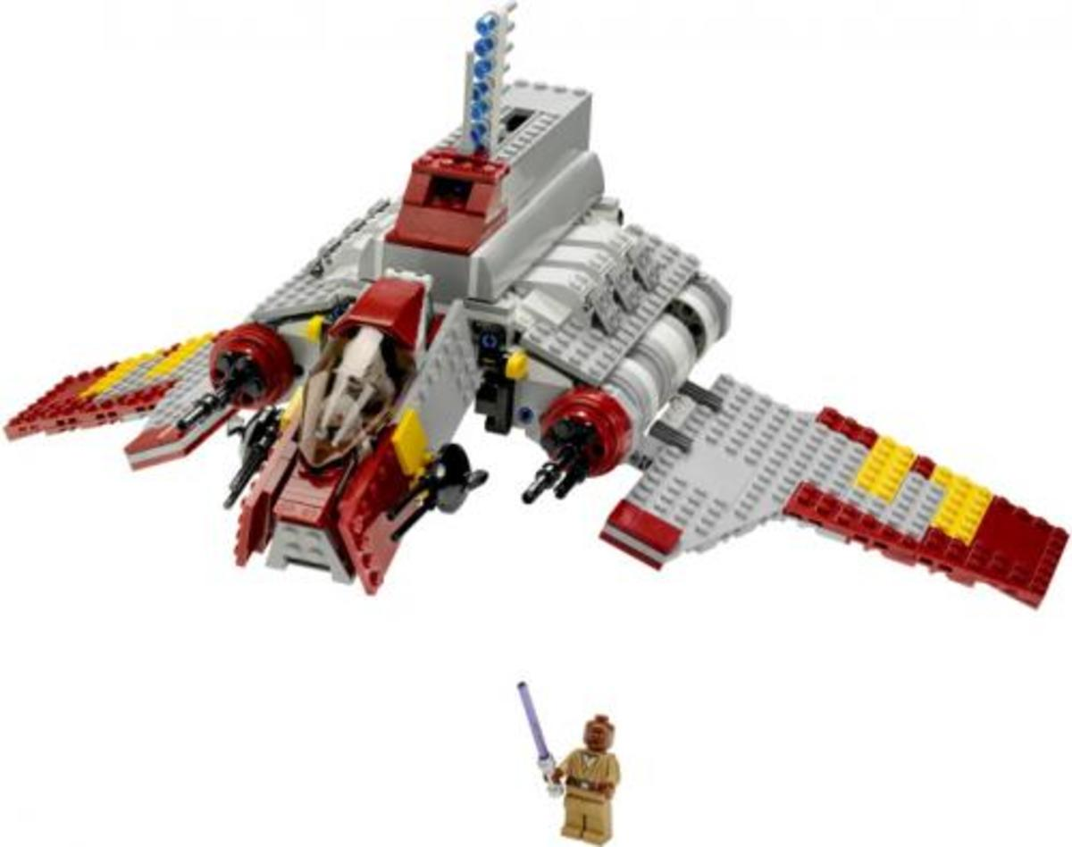 LEGO Star Wars Republic Attack Shuttle 8019 Assembled
