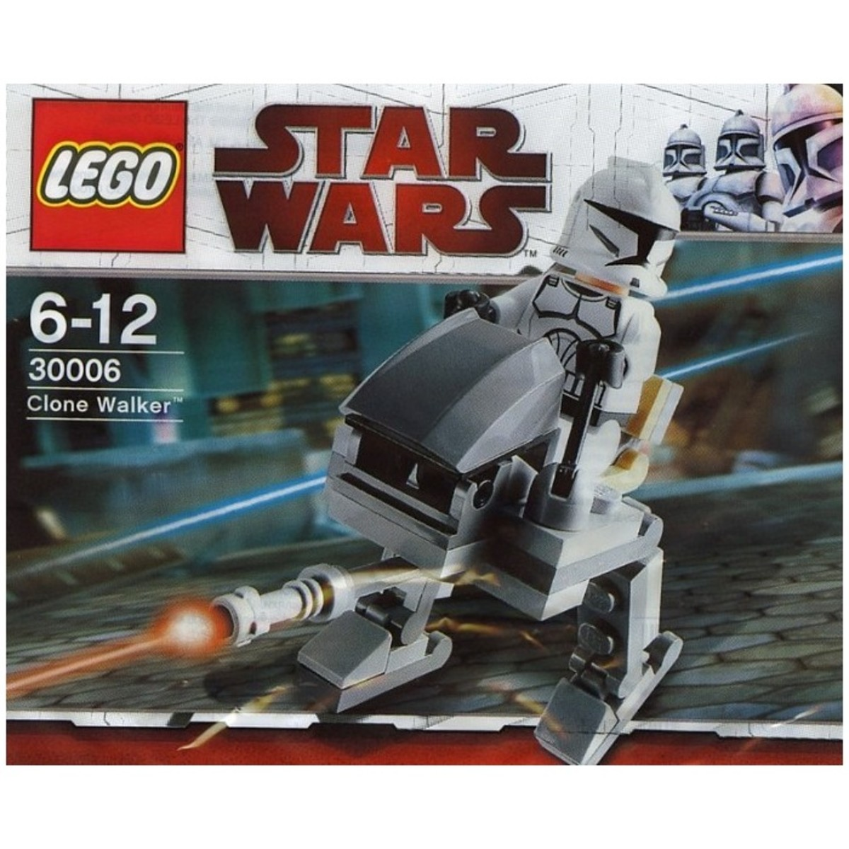 LEGO Star Wars Clone Walker 30006 Bag