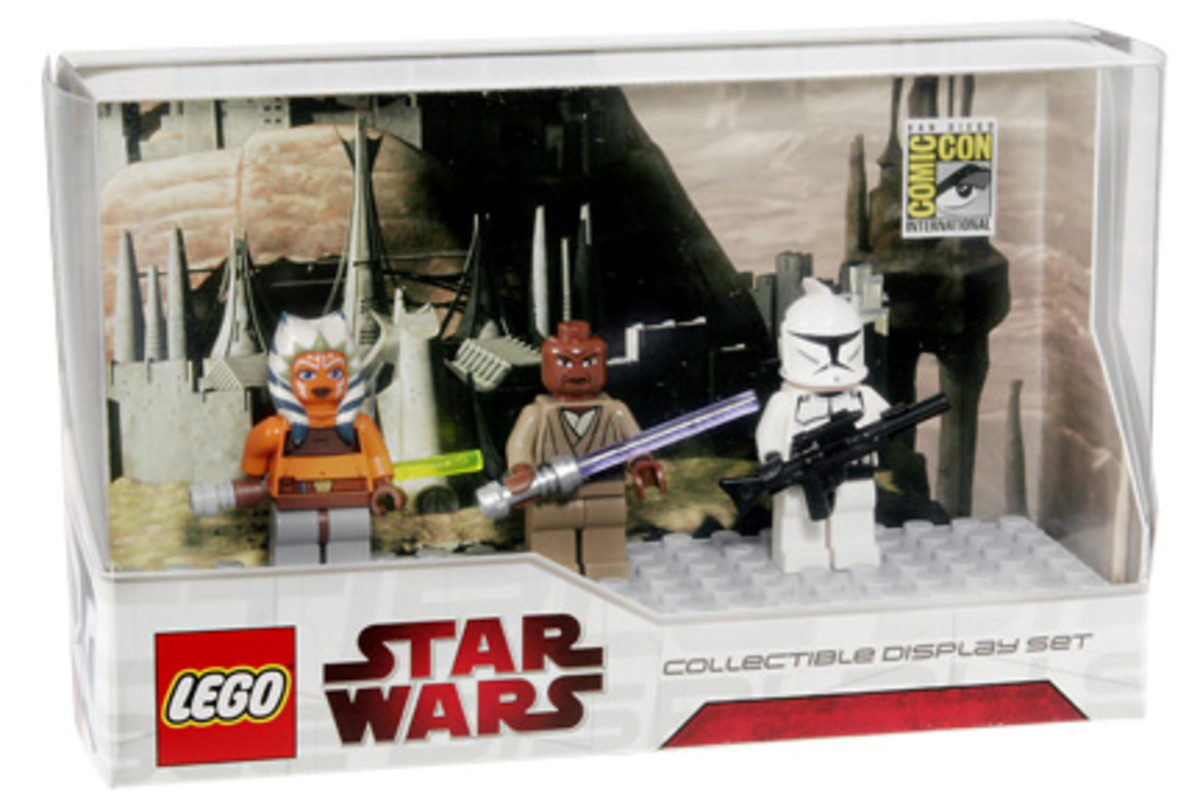 SDCC LEGO Star Wars Collectible Display Set 1 Box