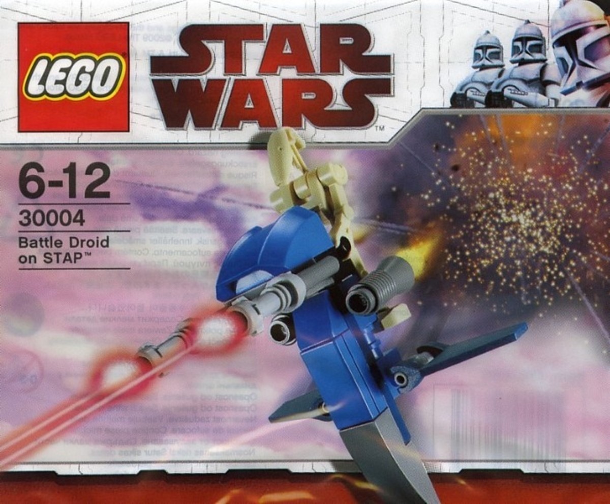 LEGO Star Wars Battle Droid on STAP 30004 Bag