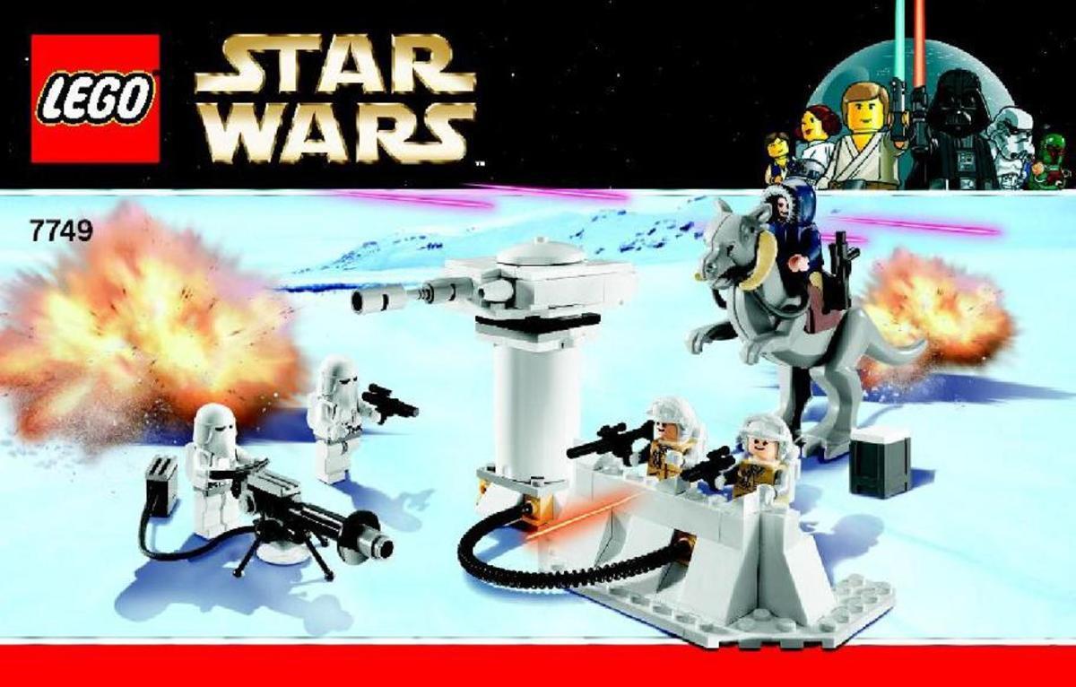 LEGO Star Wars Echo Base 7749 Box
