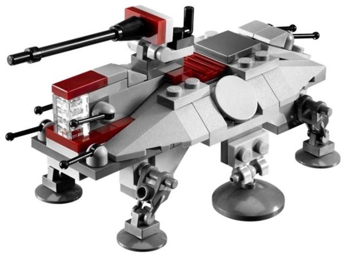 LEGO Star Wars AT-TE Walker 20009 Assembled