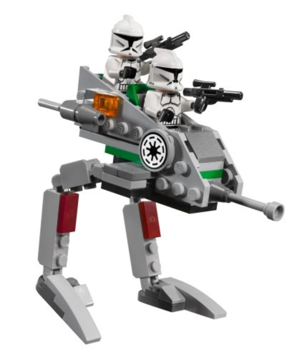 LEGO Star Wars Clone Walker Battle Pack 8014 Assembled