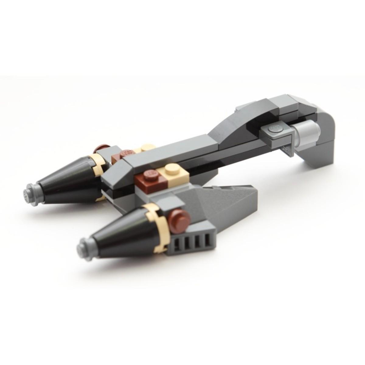LEGO Star Wars General Grievous Starfighter 8033 Assembled
