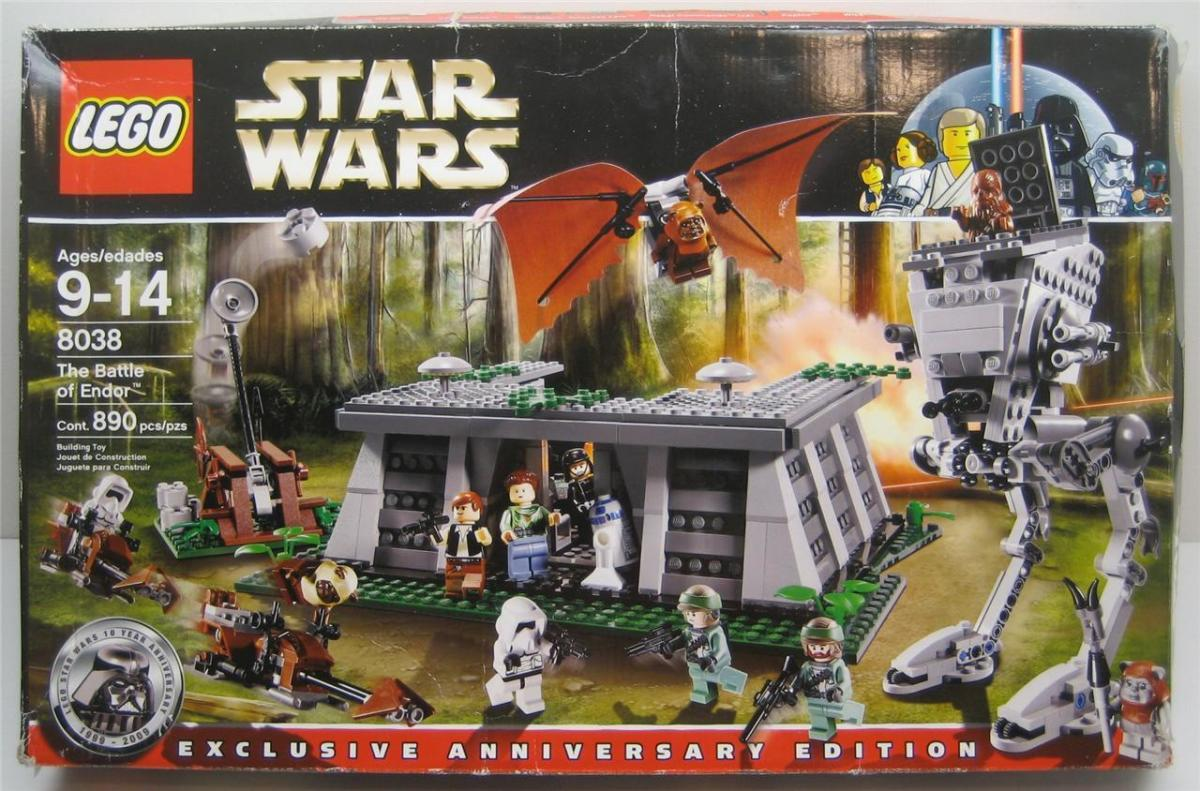 LEGO Star Wars Battle Of Endor 8038 Box