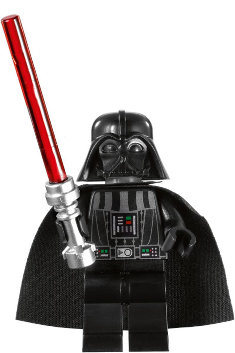 LEGO Star Wars Darth Vader's TIE Fighter 8017 Darth Vader Minifigure