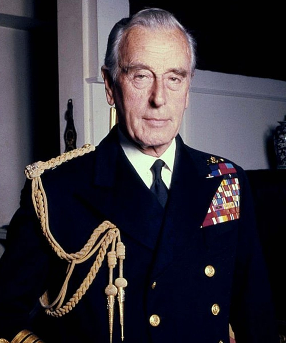 Lord Montbatten was the Head of Combined British Indian Forces in World War Two