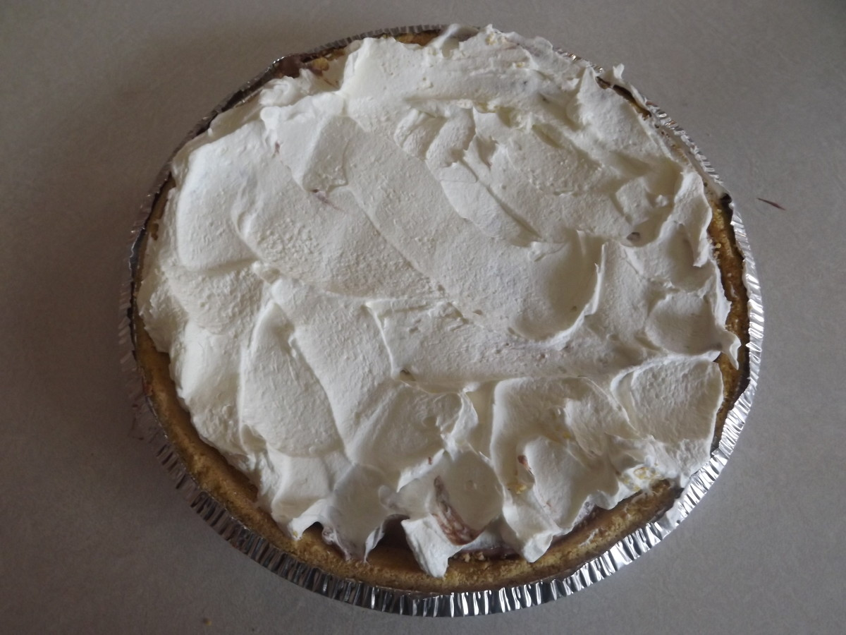 Low Carbohydrate Chocolate Pie Dessert