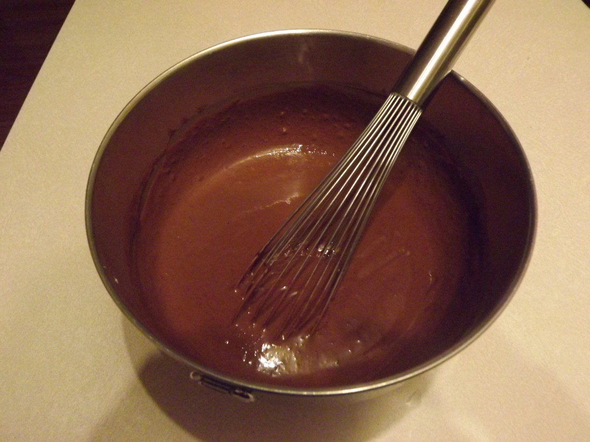 Pudding and Milk Mixture