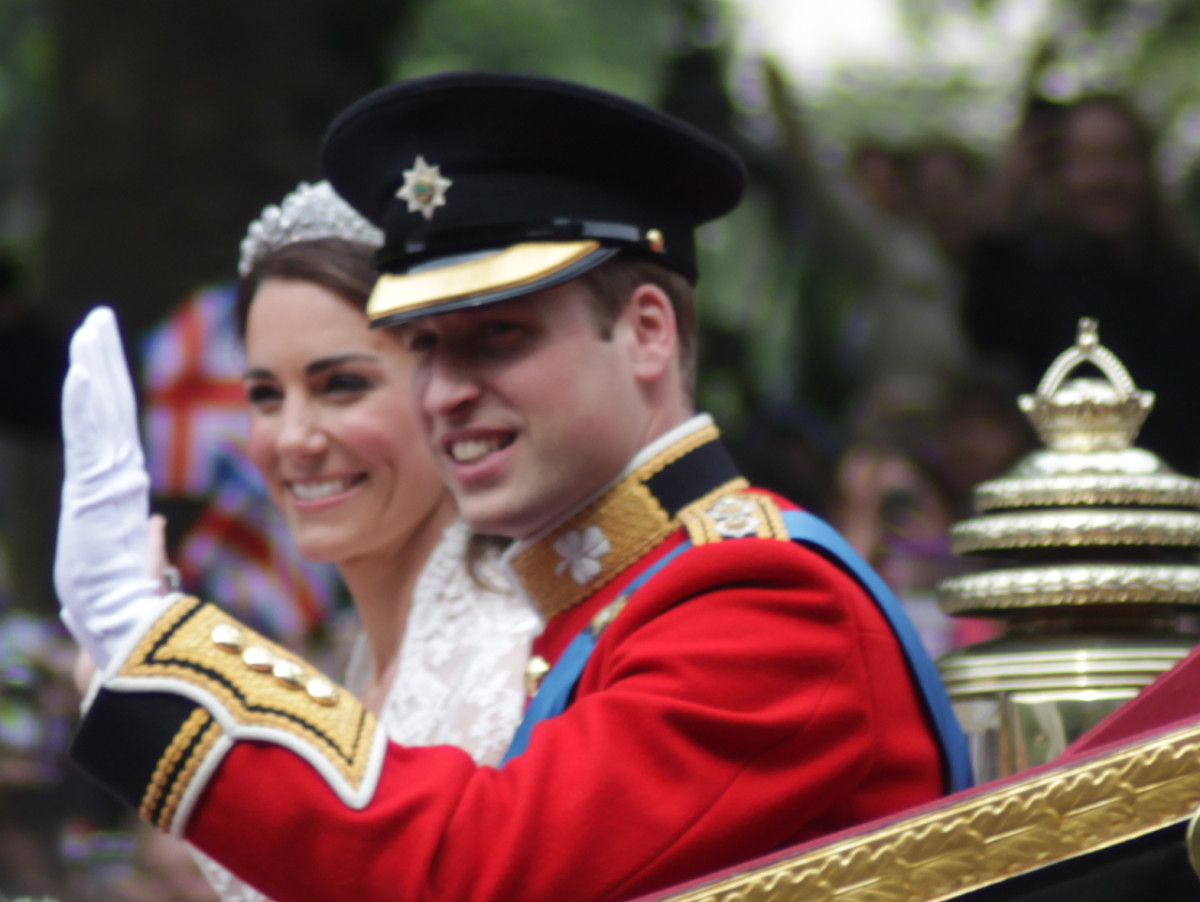 Wedding day, Kate and William