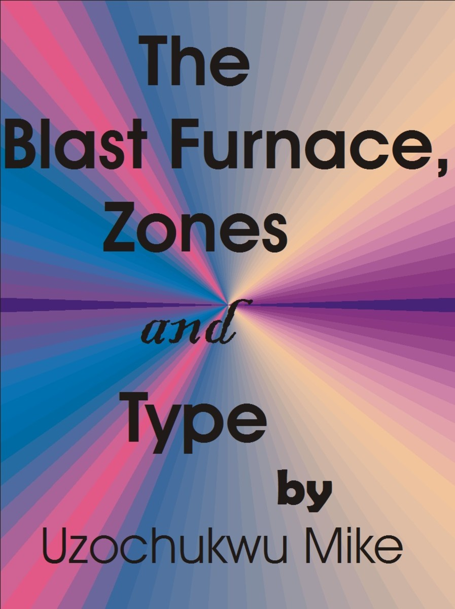 Blast furnace, types, and zones. The picture introduces the topic to be discussed in details for proper comprehension.