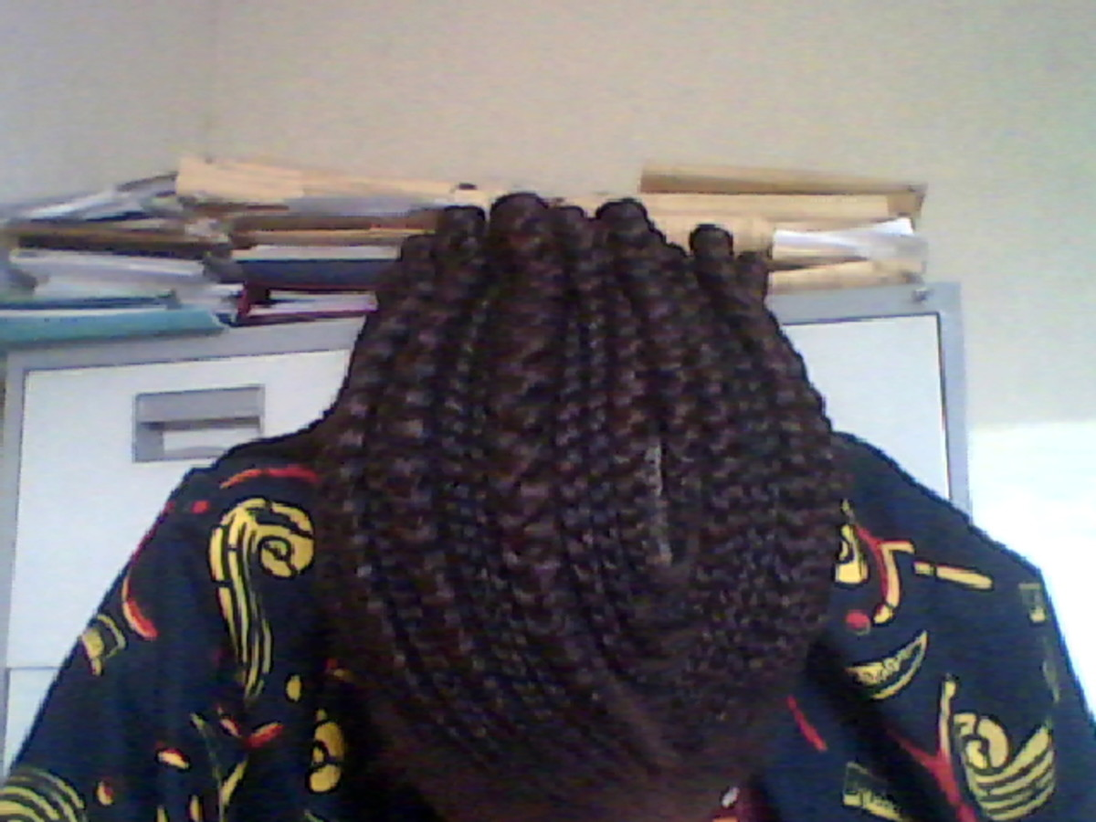 This is my hairstyle as I write this.
