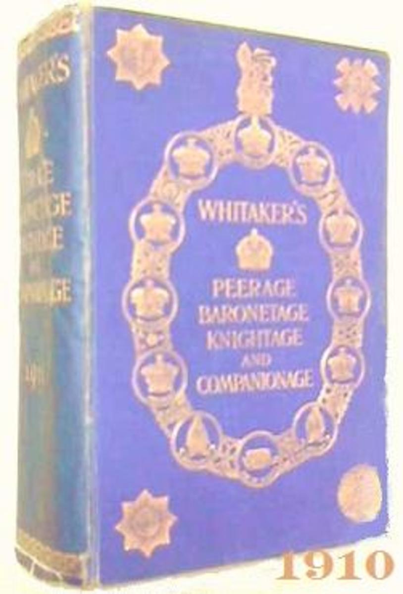 Whitaker's  1910