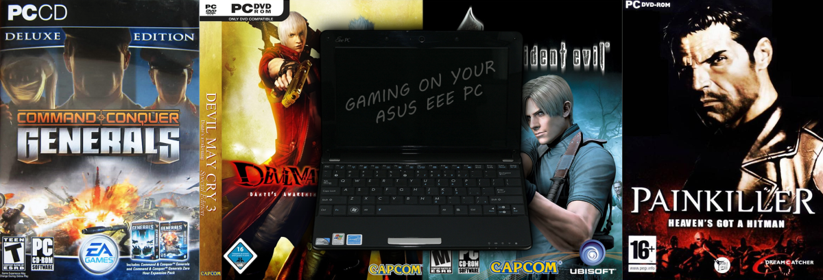 Gaming on the Asus EEE PC (tips & tricks)