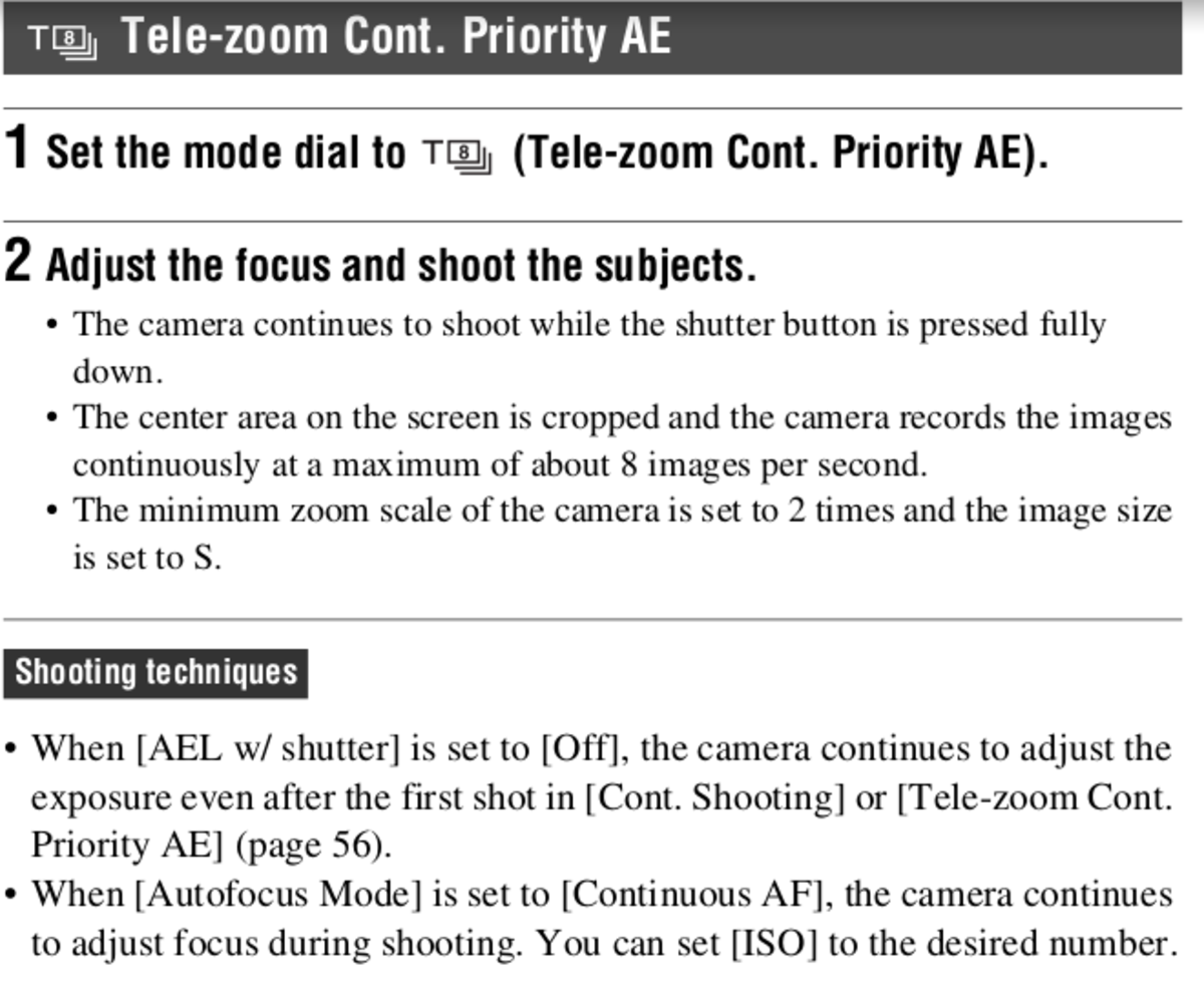 Sony A58 manual Page 40