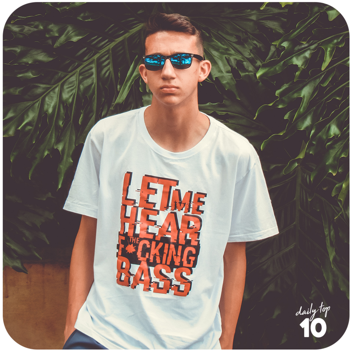 Help your boyfriend stay comfortable and fashionable with a lit T-shirt.