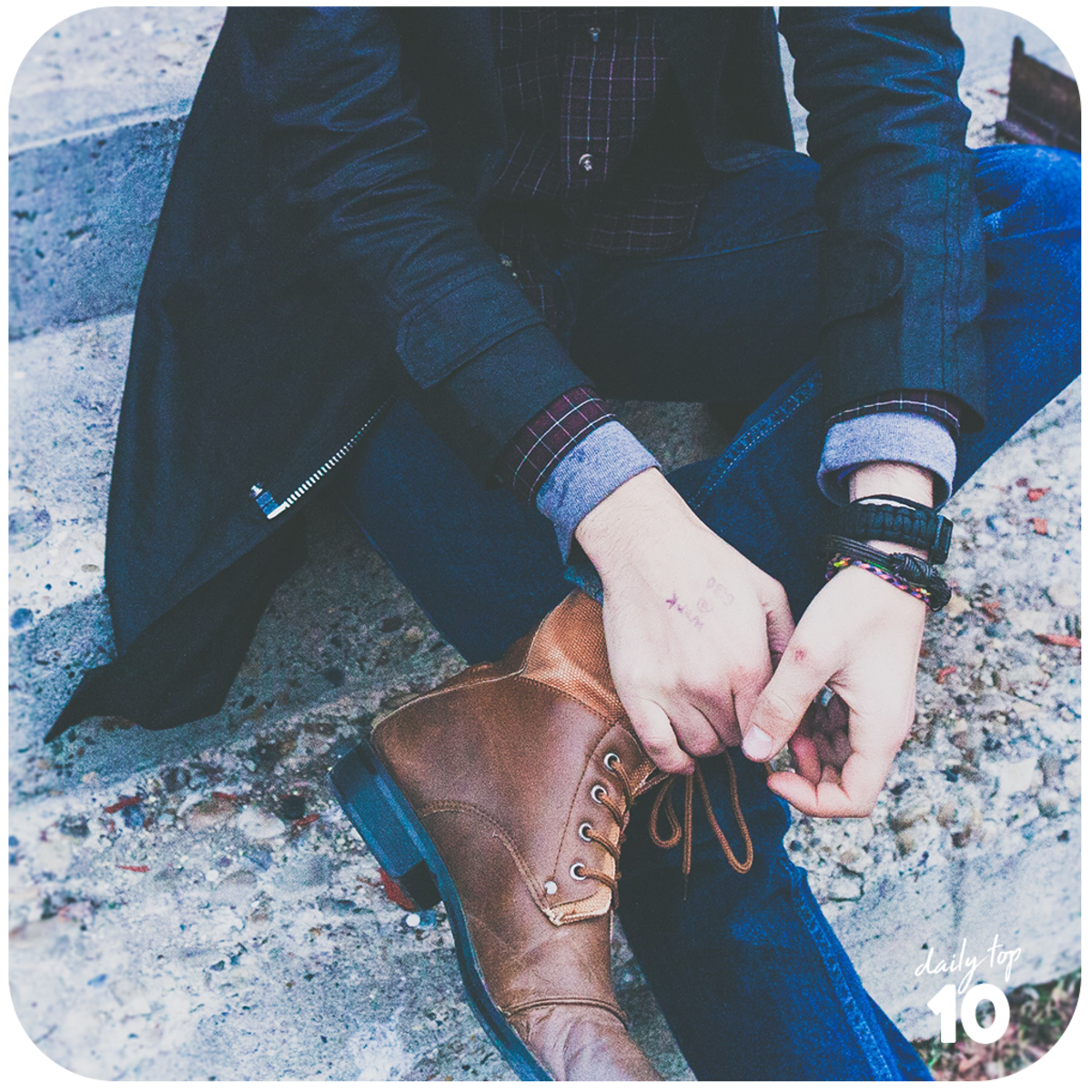 Be sure to pick a pair of shoes that matches with your man's style.