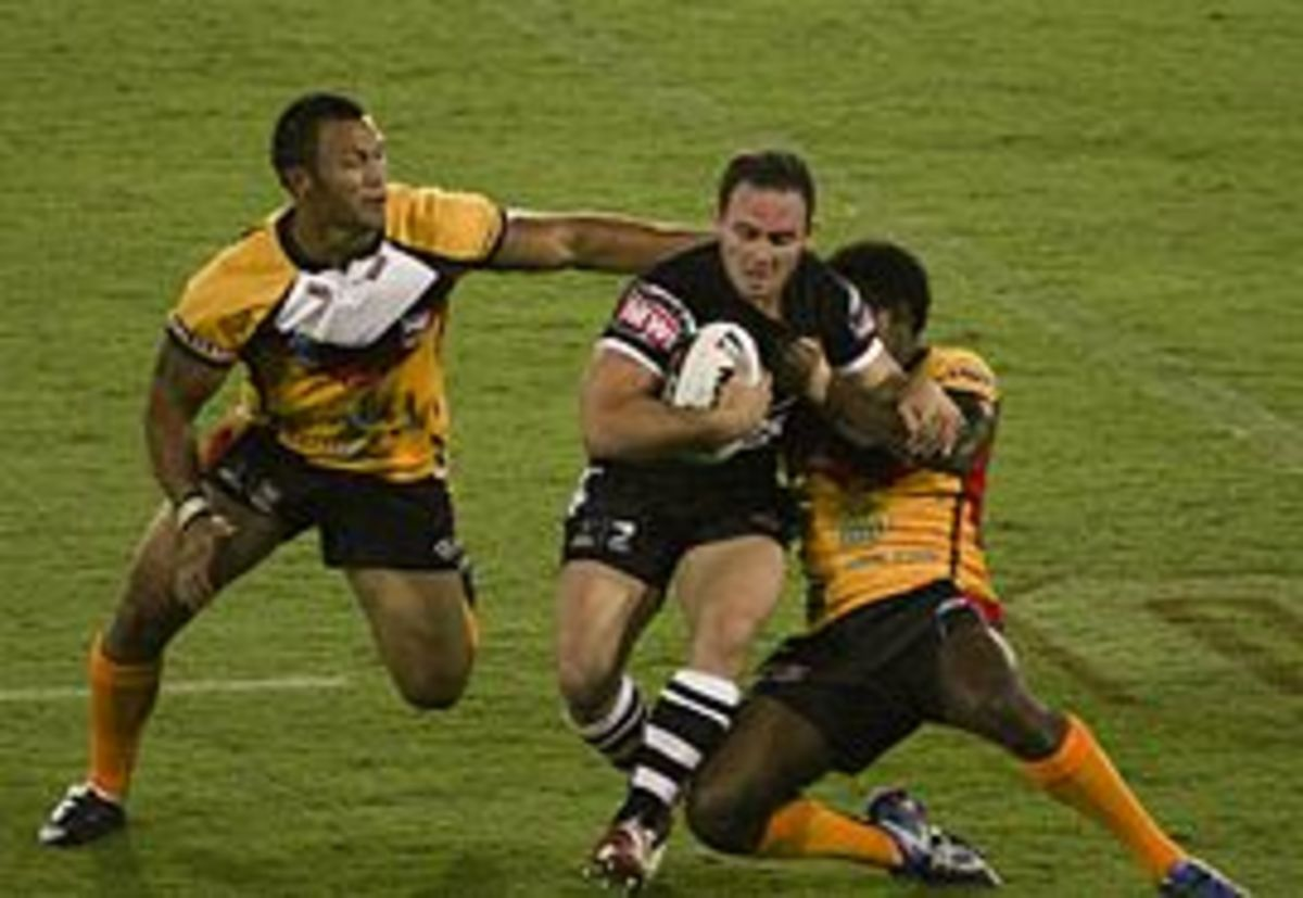 Rugby League in action