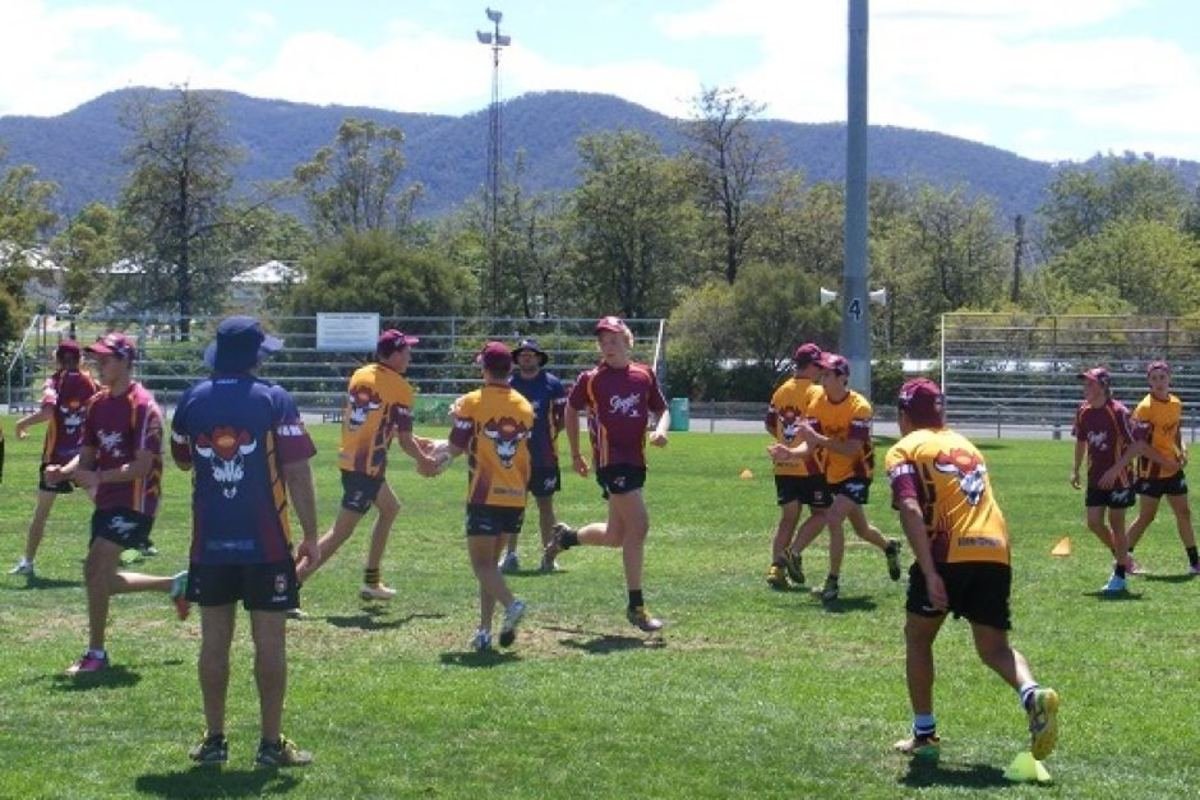 Rugby League Training