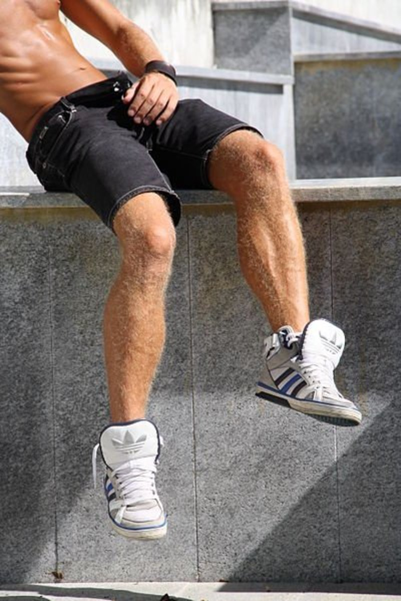 Leg Hair Loss in Men? It's Not Uncommon.