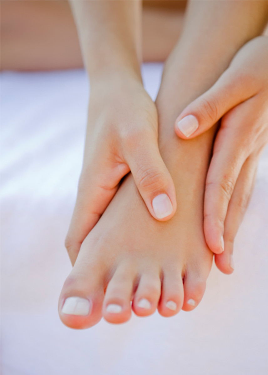 Get your feet looking like celebrity feet. Calluses are feet are stubborn.