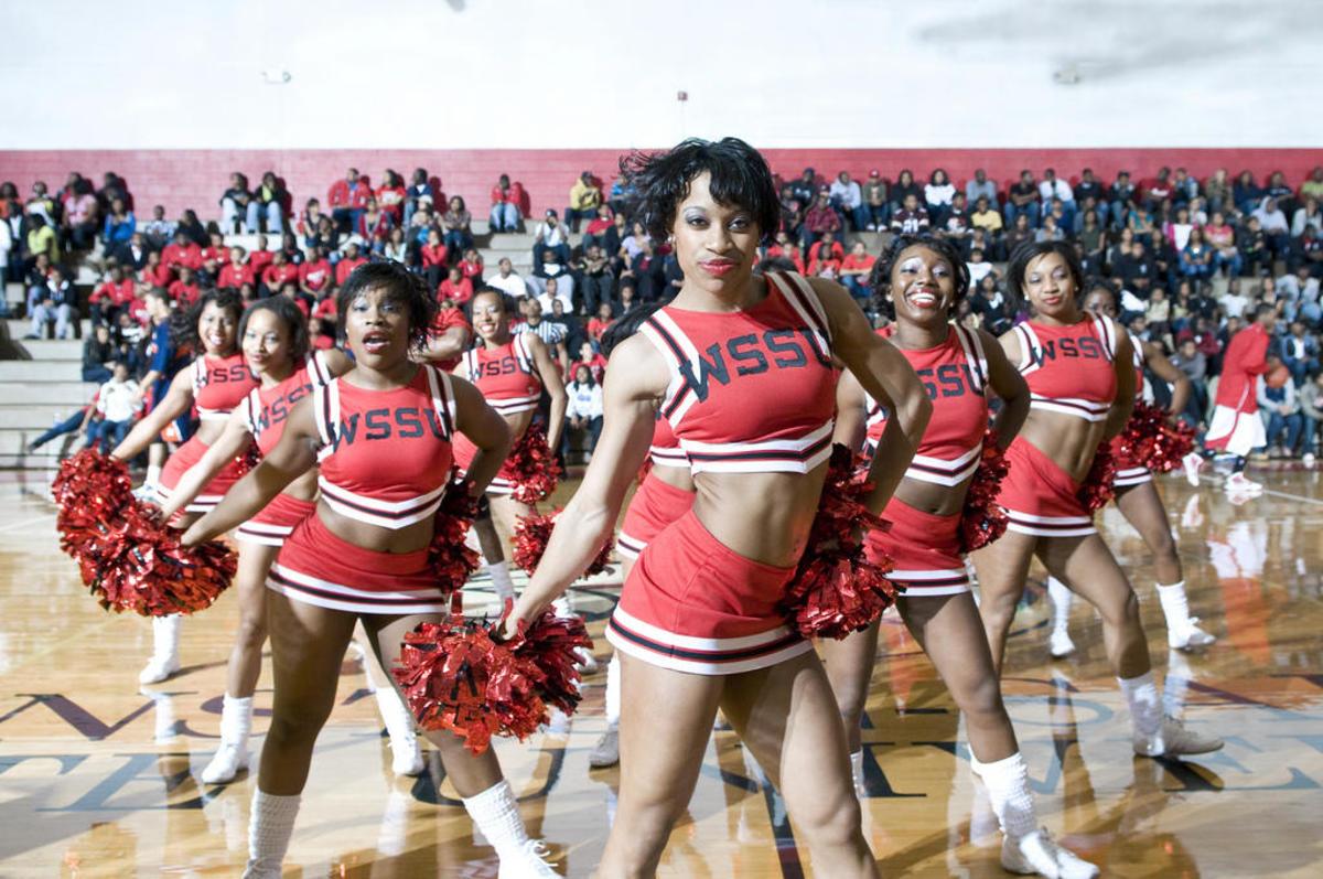 Cheerleaders from WSSU