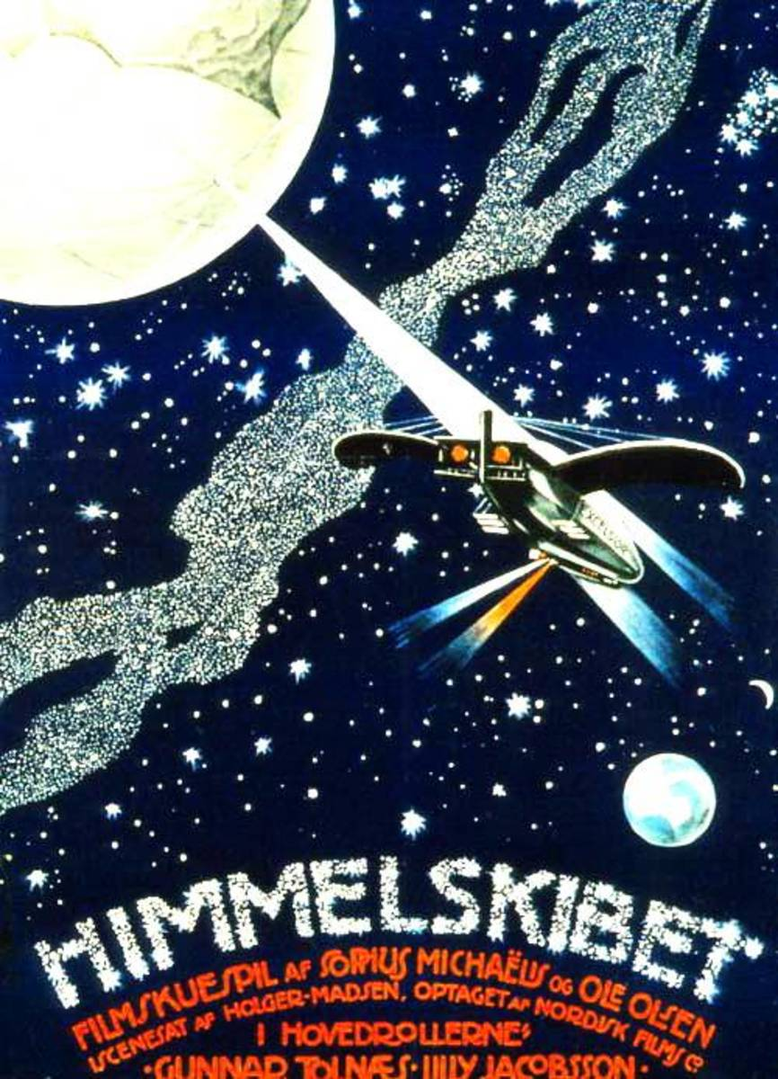 Movie Poster for Himmelskibet (A Trip To Mars)