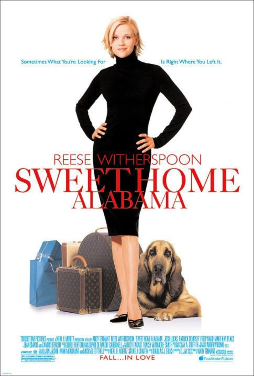 Sweet Home Alabama is a romantic movie about home and rekindling love.